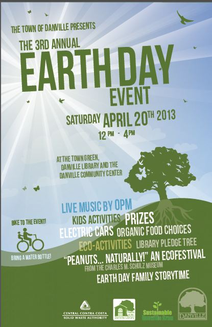 town of danville earth day art contest sustainable