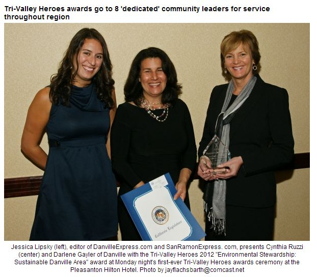 Sustainable Danville Area Receives Tri-Valley Hero Award